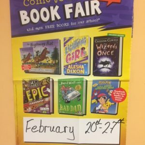 Please support our Book Fair