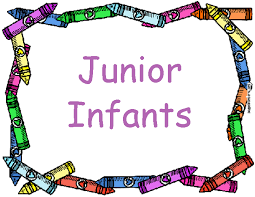 Junior Infants for September 2018 Pop In to Say Hello!